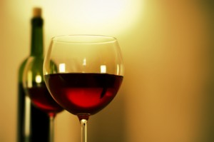 Drinking a glass or two of red wine can help you beat the winter blues