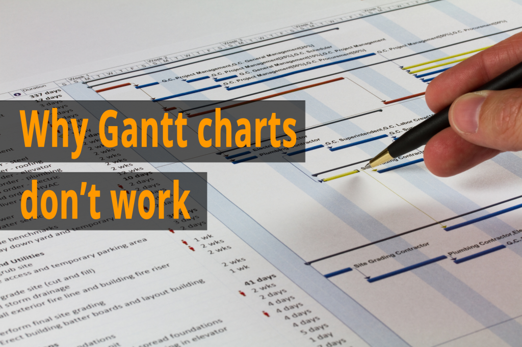 Why Gantt charts don't work