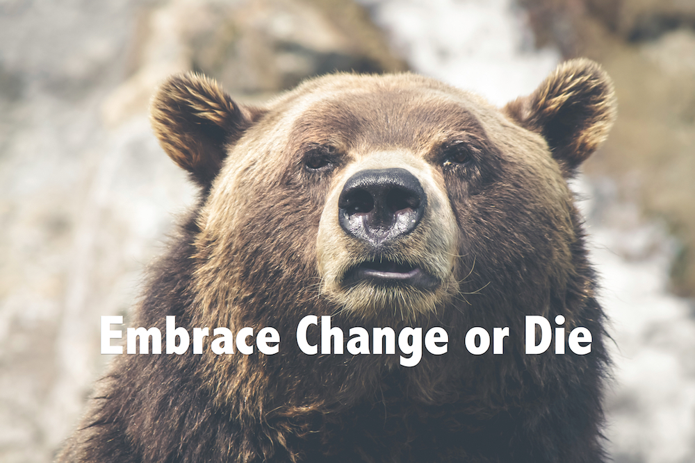embrace change or die