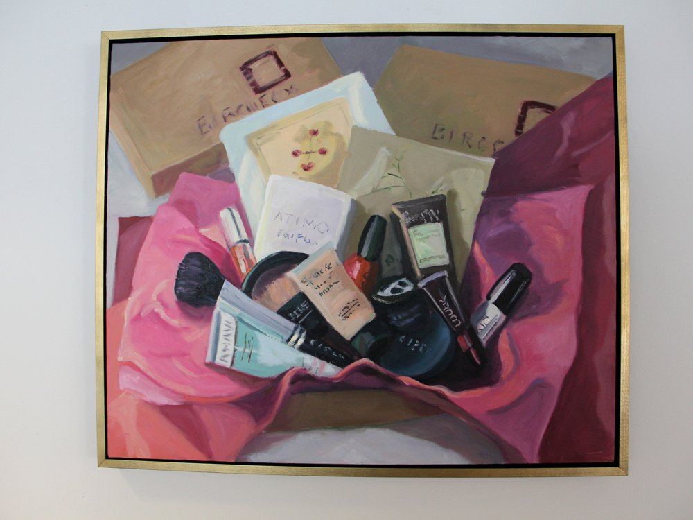 Birchbox office personalized art